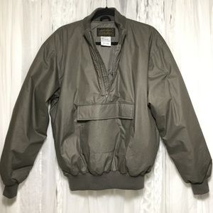 Vintage Eddie Bauer goose down pull over jacket
